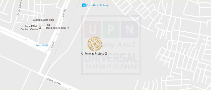 Al Rehmat Project Location Map