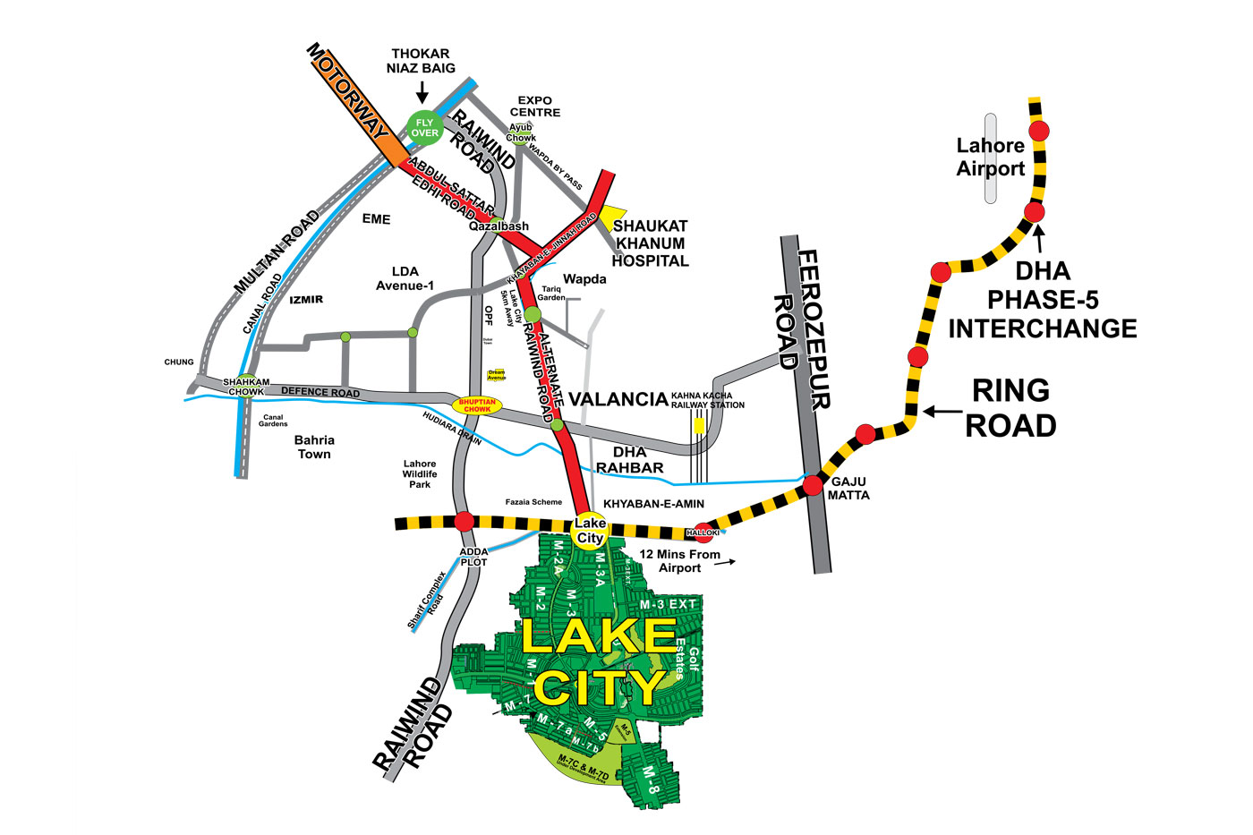 lake city holdings site map