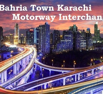 Bahria Town Karachi Motorway Interchange