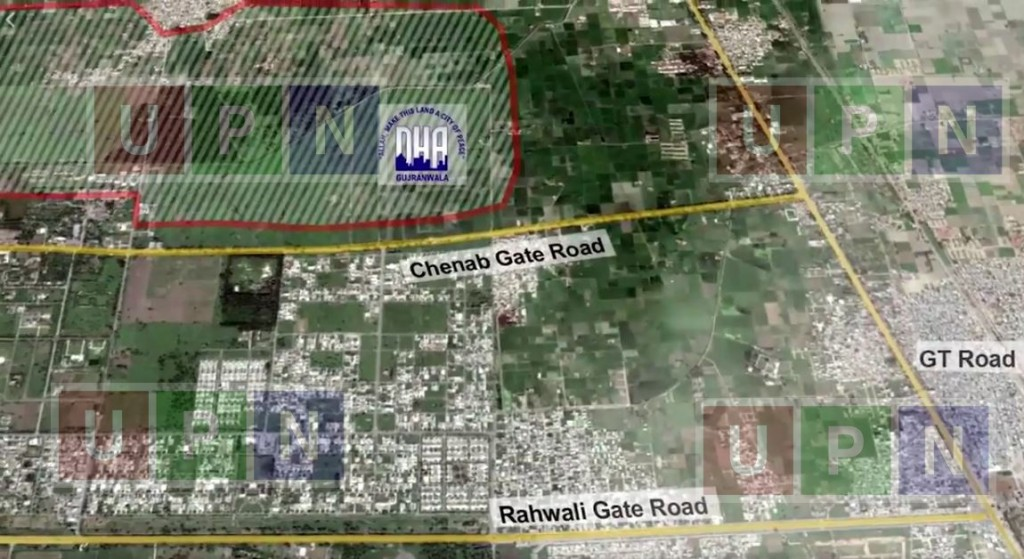 dha gujranwala booking form and residential plots prices