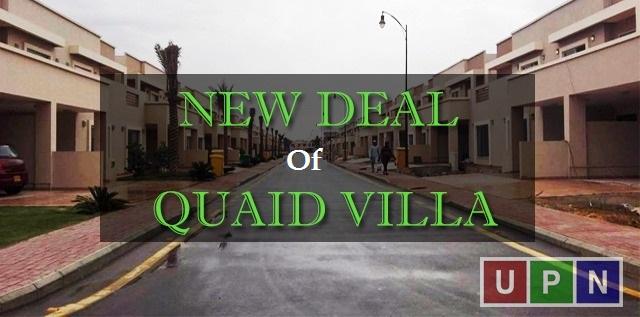 New Deal Launched of Quaid Villas Bahria Town Karachi – Latest