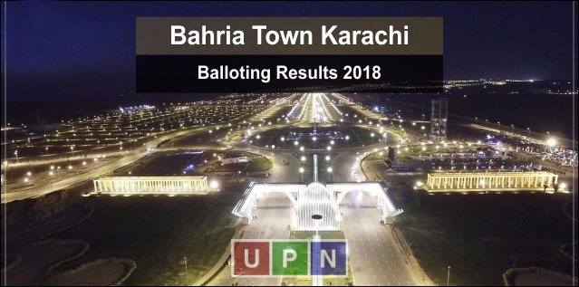 Bahria Karachi Balloting Results 2018 for 125 Sq. Yard Plots
