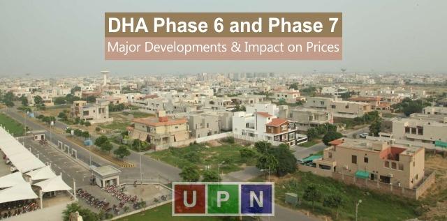 Major Developments near DHA Phase 6, Phase 7 & Impact on Prices