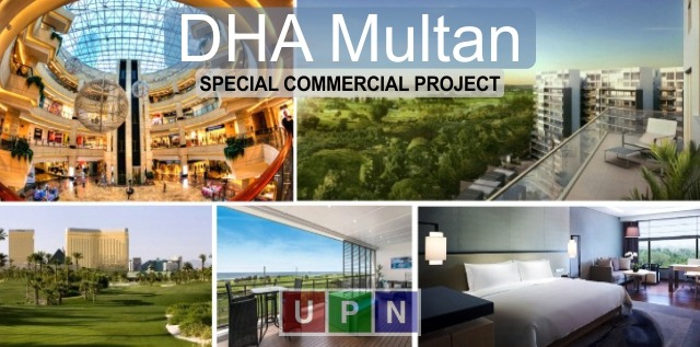 DHA Multan Coming up with a Special Mixed-Use Commercial Project