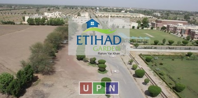 Etihad Garden Rahim Yar Khan – Projects Details, Launch Date, Booking Details, Location Map, and Plots Rates