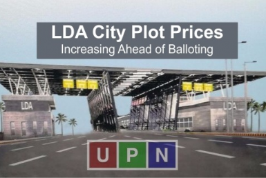 LDA City Plot Prices