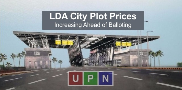 LDA City Plot Prices Started to Rise Ahead of Balloting