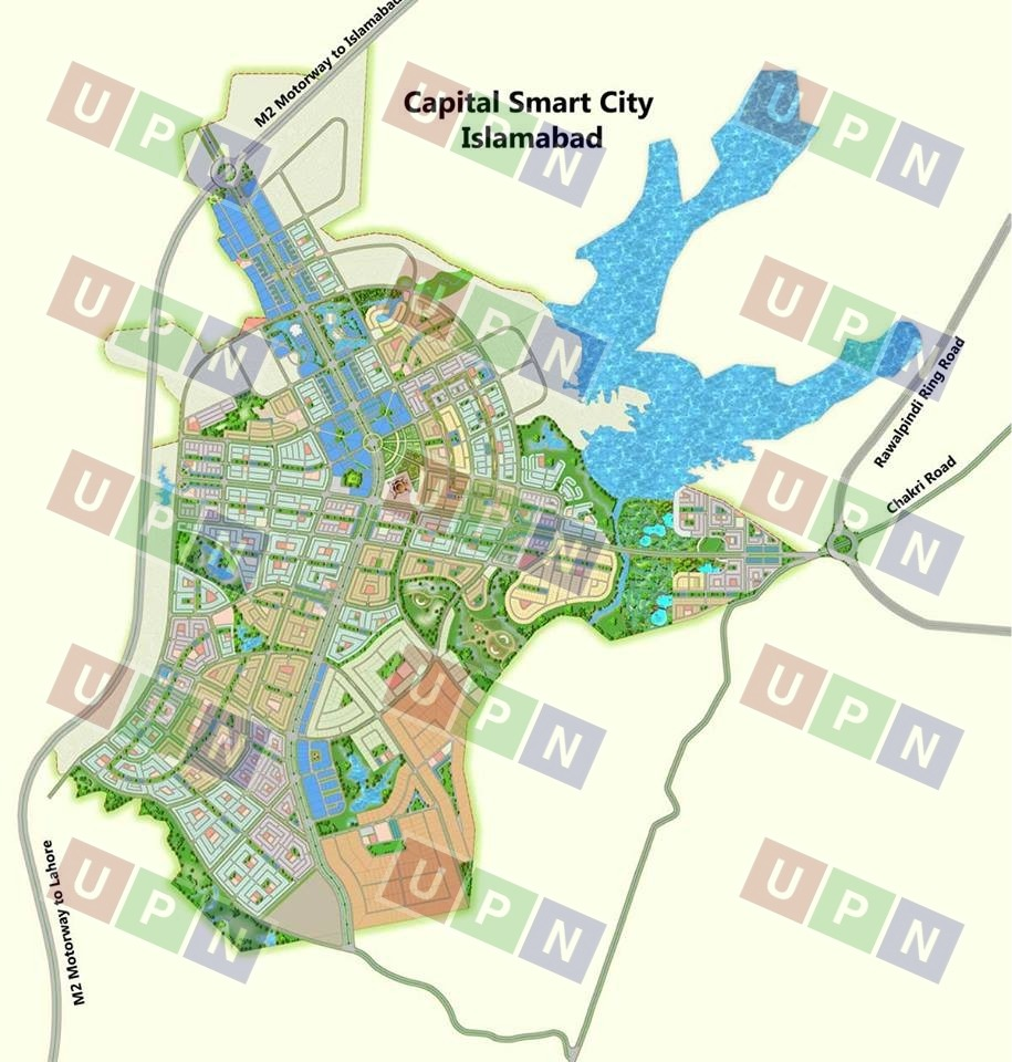 New City Islamabad: Capital Smart City Islamabad Booking Prices & Location Map