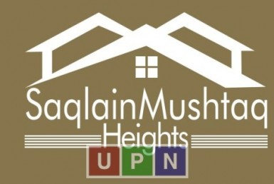 Saqlain Mushtaq Heights floor plan