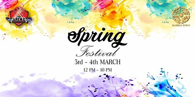 Spring Festival in Bahria Town Lahore at The Arena