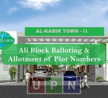 Ali Block Balloting