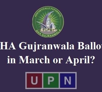 DHA Gujranwala Balloting
