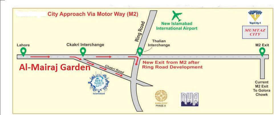 Lahore World Map.Blue World City Booking Details And Development Update
