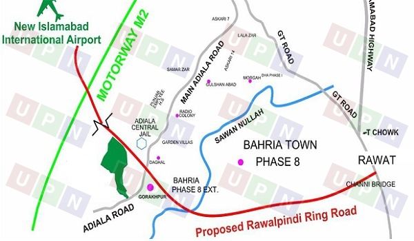 Rawalpindi Ring Road Route and Development Status