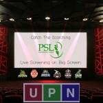PSL 2018 Matches Screening