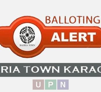 Bahria Town Karachi Balloting