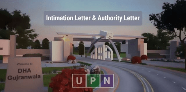 DHA Gujranwala – Get Intimation Letter Yourself or by Representative