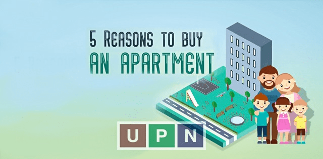 5 Reasons Which Make Apartments a Suitable Living Option for Buyers
