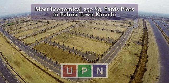 Most Economical 250 Sq. Yards Plots to buy in Bahria Town Karachi – Latest Bahria Town karachi
