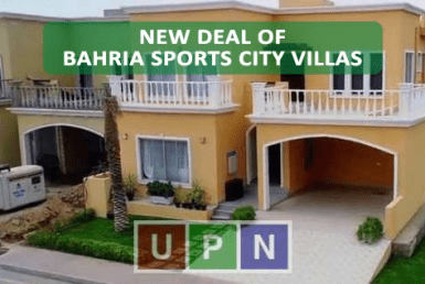 Bahria Sports City Villas