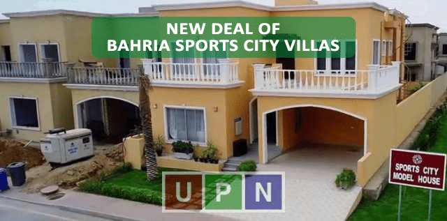 Bahria Sports City Karachi Villas New Deal Announced – Booking Details, Payment Plan and Development