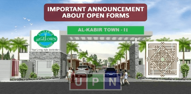 Al-Kabir Town Phase 2 – Big Announcement about Open Forms Submission