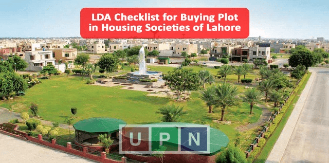 LDA Issues Checklist for Buying Plot in Housing Societies of Lahore – Checklist Issues LDA