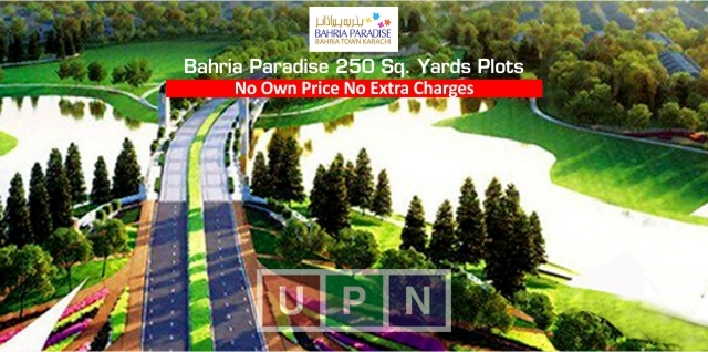 Bahria Paradise Karachi 250 Sq. Yards Best 2018 Investment Option in Bahria Karachi