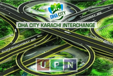DHA City Karachi Interchange
