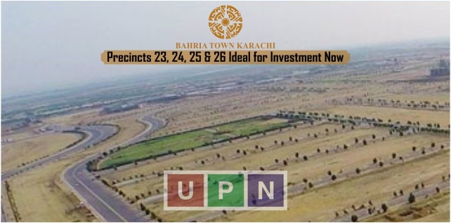 Bahria Town Karachi Precincts 23, 24, 25 & 26 Ideal for Investment Now