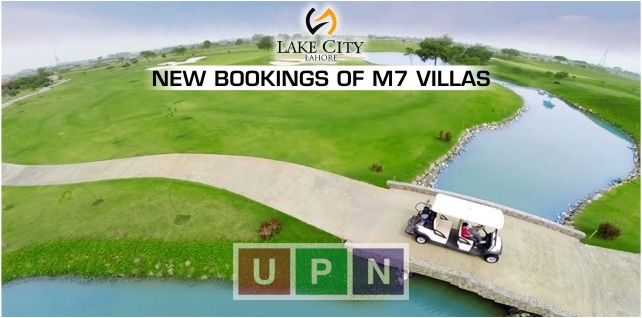 Lake City Lahore New Bookings of M7 Villas, Prices & Payment Plan