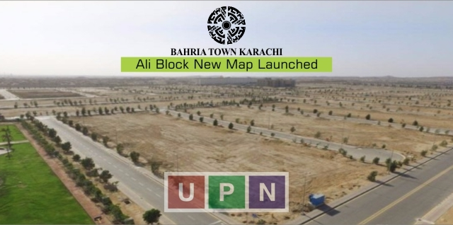 Bahria Town Karachi Ali Block New Map Launched – Precinct 12 New Map