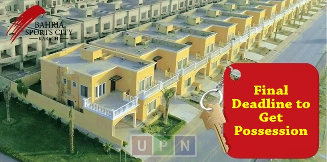 Bahria Sports City Villas Final Deadline to get Possession – Complete Procedure