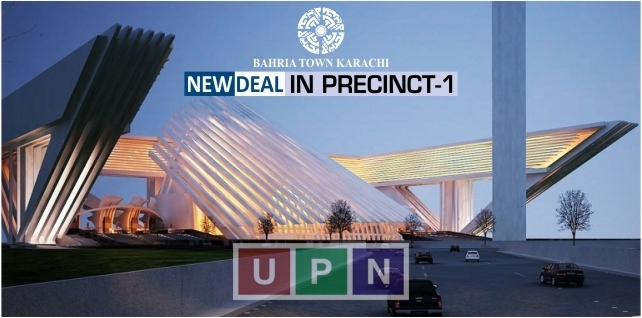 Bahria Town Karachi New Deal in Precinct 1 - Booking and Prices