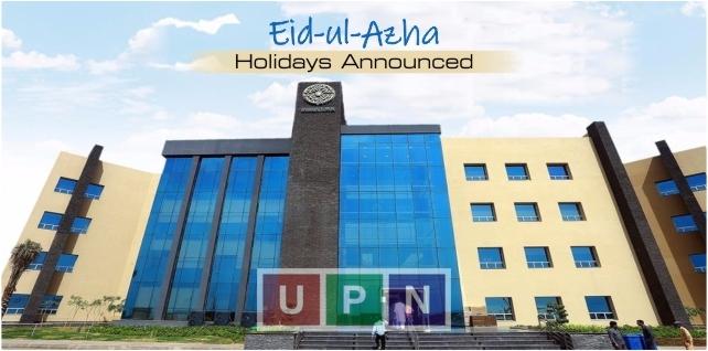 Eid-ul-Azha Holidays Announced in Bahria Town Karachi – Important Notice