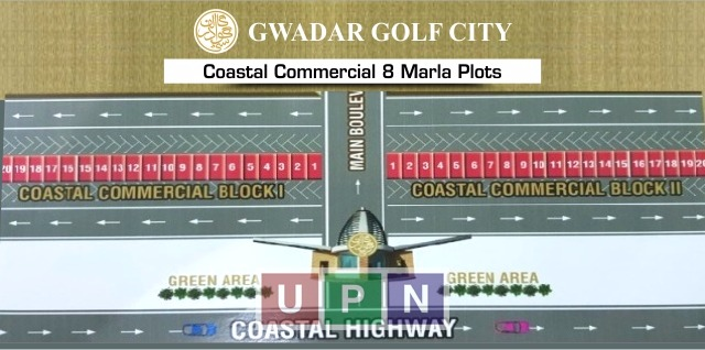 Gwadar Golf City 8 Marla Commercial Plots – Booking Details and Price Update