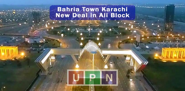 Ali Block New Deal in Bahria Town Karachi - New Booking