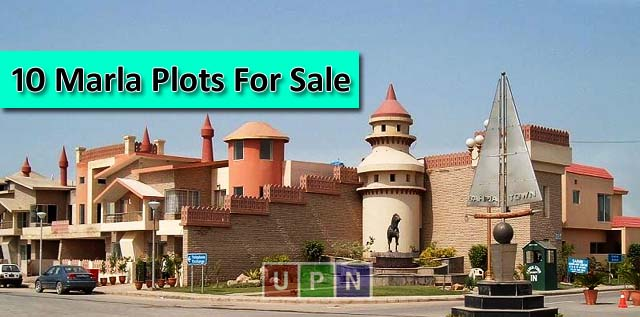 10 Marla Plots for Sale in Bahria Town Lahore