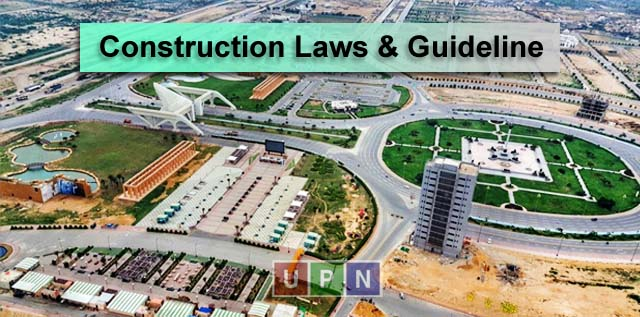 Construction Laws & Guideline in Bahria Town Karachi