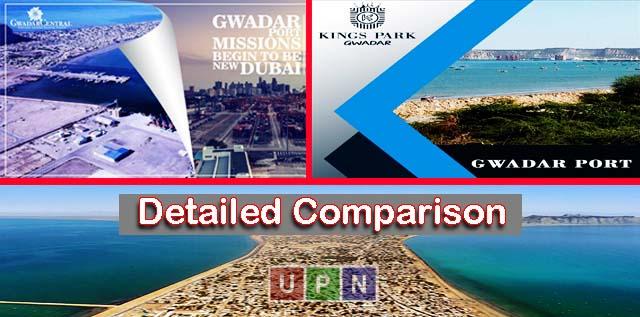 A Detailed Comparison of Kings Park Gwadar & Gwadar Central