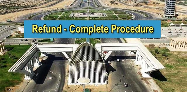 Bahria Town Karachi 100% Refund – Complete Procedure & Details
