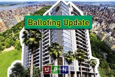 Bahria Central Park Apartments Balloting Update & Completion Details