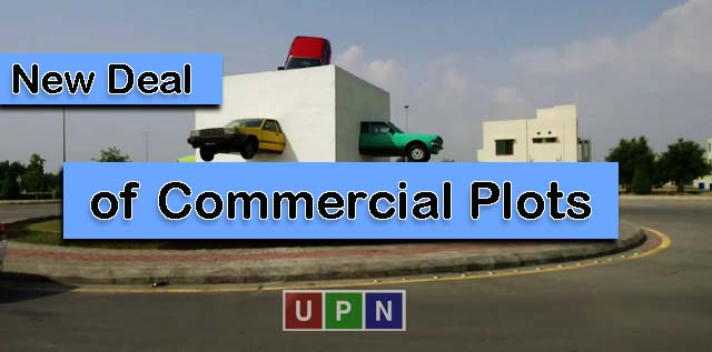 New Deal of Commercial Plots in Bahria Orchard Lahore