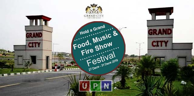 Grand City Kharian to Hold a Grand Food Festival with Lots of Fun, Food, Music & Fire Show