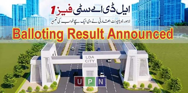 LDA City Balloting Results Announced – Check Online 2019