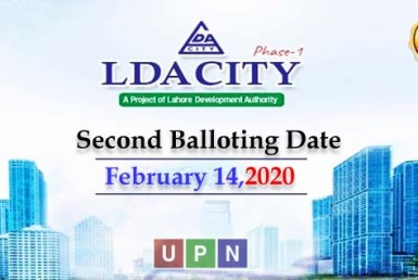 LDA City Lahore Phase 1 - Second Balloting Date Announced
