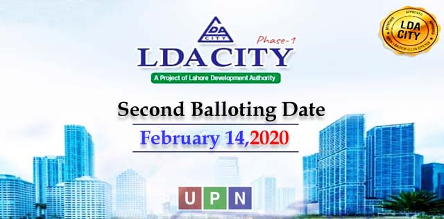 LDA City Lahore Phase 1 – Second Balloting Date Announced