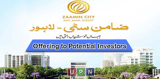 What Zaamin City Lahore is offering to Potential Investors?