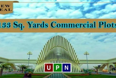 133 Sq. Yards Commercial Plots in Bahria Town Karachi