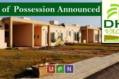 DHA Valley Islamabad - Expected Date of Possession Announced